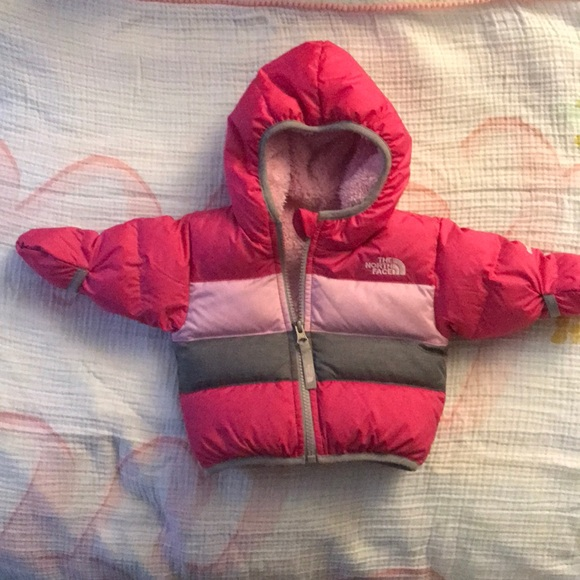 9566881dc North Face Moondoggy Down Jacket 0-3 months